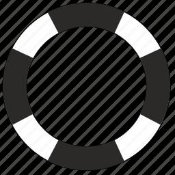 buoy, float, help, lifesaver, yacht icon