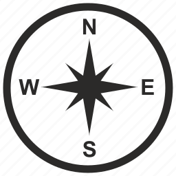 boat, compass, location, ship, yacht icon