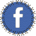 facebook, patch, seam, social, social network, yama icon
