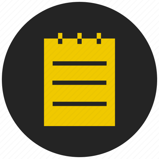 clipboard, document, notepad, pad, paste, survey icon