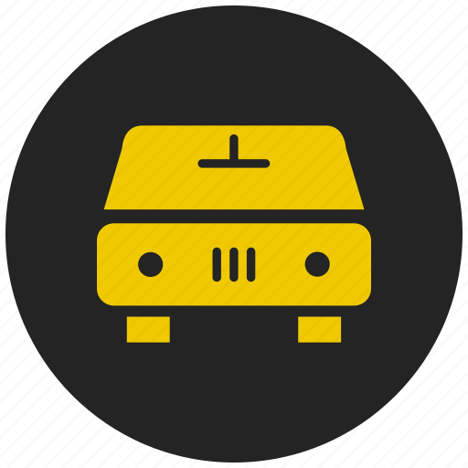 four wheeler, rental car, taxi, transport, vehicle icon