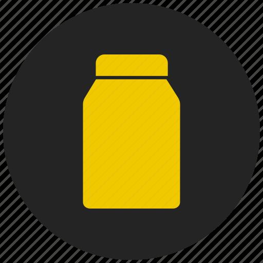 container, jar, medicine jar, pickle bottle, preservation bottle icon