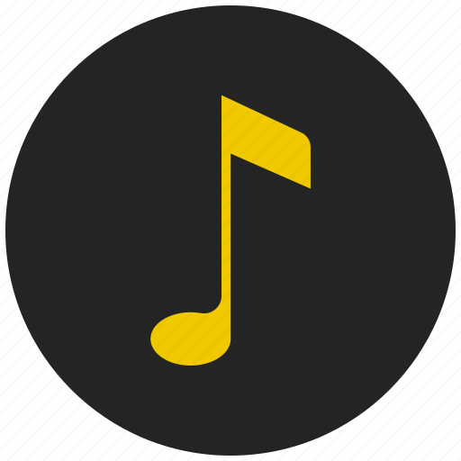 entertainment, multimedia, music symbol, musical notation, musical note, sound icon