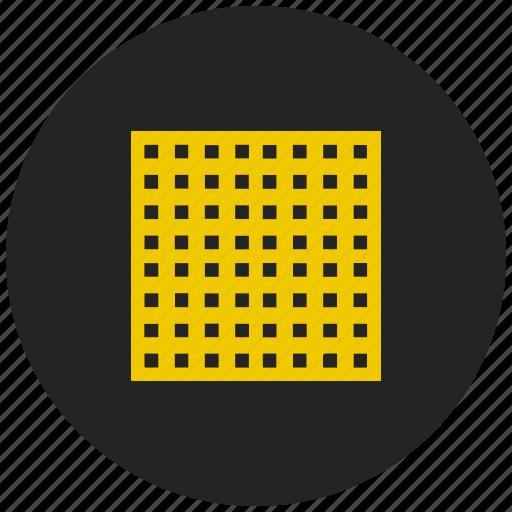 area, blocks, square icon