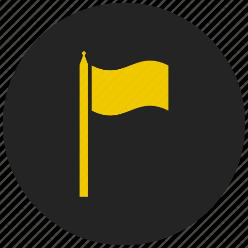 destination, end, flag, report, start, success, target icon