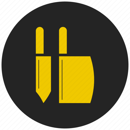 butcher, cut, eat, knife, meal, slice icon