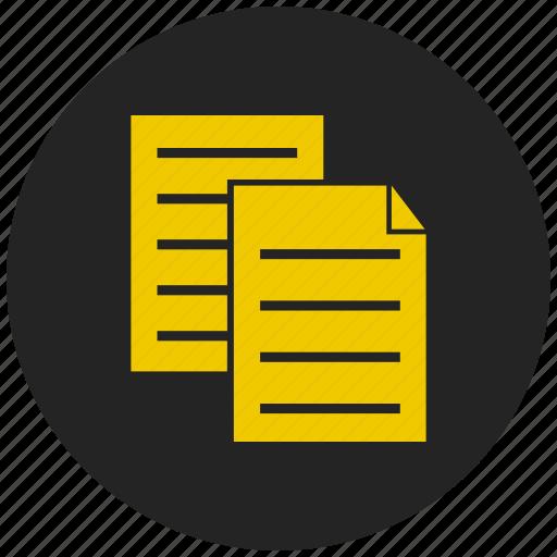 clipboard, copy, education, inventory, paste special, write icon