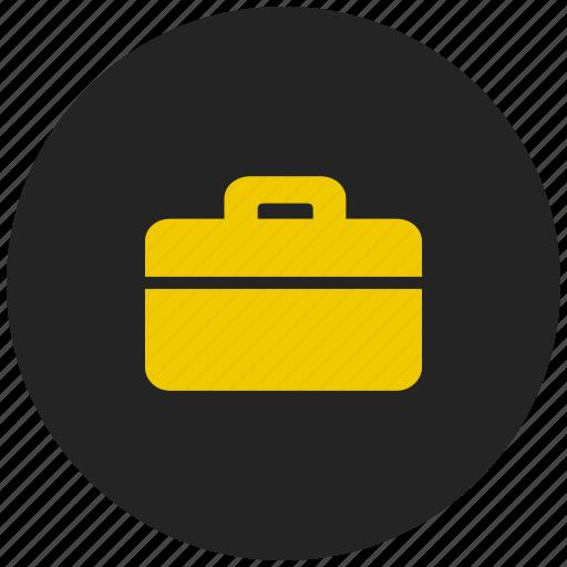 bank locker, briefcase, locker, safe, safety, secure, security icon