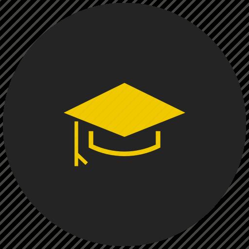 degree, education, graduation, motarboard, scholar, study icon