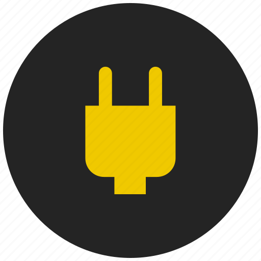 cable, charge, connector, plug, power, socket icon