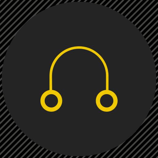 audio, customer support, head phones, headset, helpdesk, music, sound icon