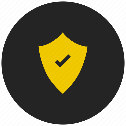 anti virus, firewall, guard, protection on, safety, secure, security icon