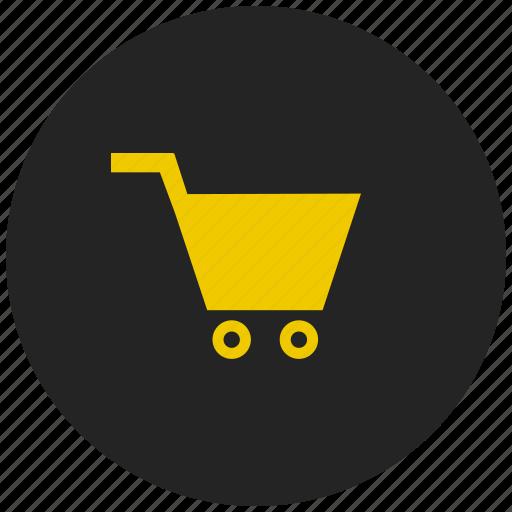basket, buy, checkout, ecommerce, retail, shopping cart, super market icon