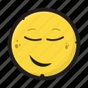 emotion, face, smile, smiley icon