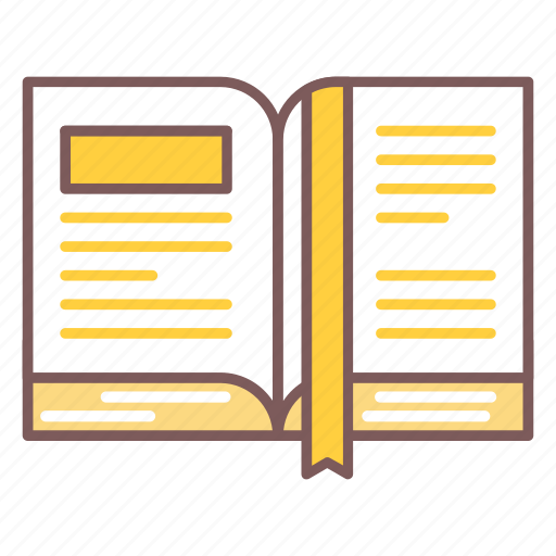 article, book, education, open, page, read icon