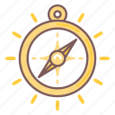 compass, direction, navigation, strategy, tactics icon