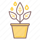 business, development, growth, leaf, plant, pot, tree icon