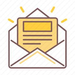 e-mail, email, letter, mail, marketing, newsletter, subscribe icon