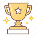 bowl, challenge, competition, cup, star, success, victory icon
