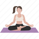 easy pose, exercise, workout, yoga, yoga1 icon