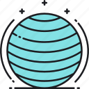balance, balance ball, ball icon