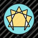enneagram, logo, pattern, tantra icon