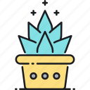 nature, plant, succulent icon