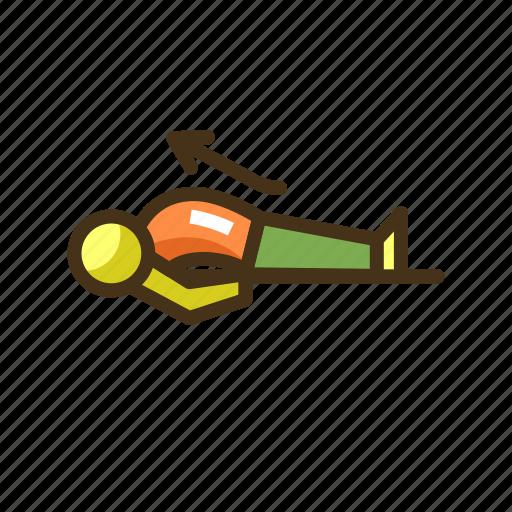 Fish, pose, yoga, yoga pose icon - Download on Iconfinder