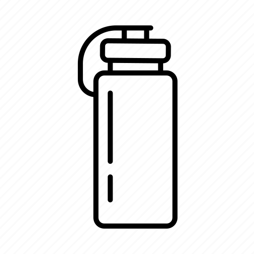 drink bottle, exercise, fitness, gym, meditation, pilates, yoga icon