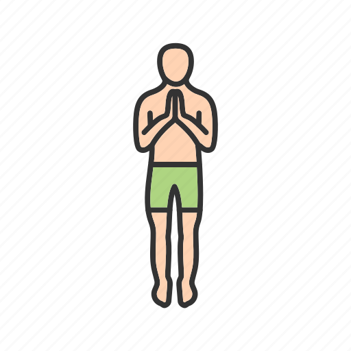 exercise, fitness, greeting, happy, pose, training, yoga icon