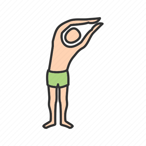 healthy, left, moon, pose, position, yoga, young icon