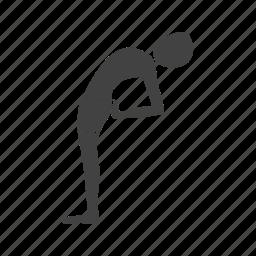 half, healthy, moon, pose, position, yoga, young icon