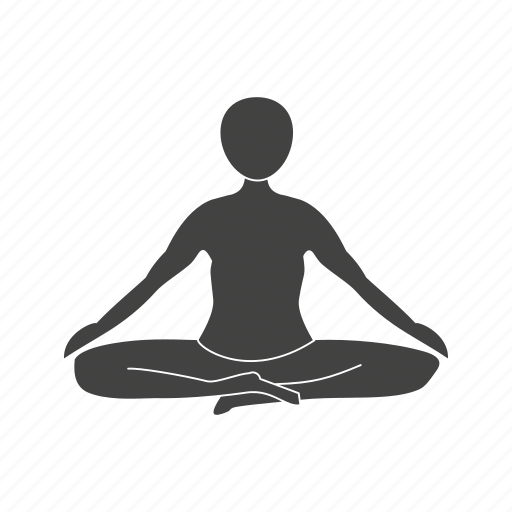 Exercise, fitness, pose, training, yoga, young icon - Download on Iconfinder