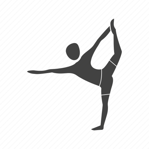 dance, exercise, health, lord, pose, sport, yoga icon