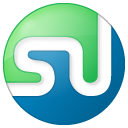 button, color, social, stumbleupon icon