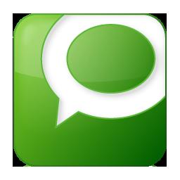 green, social, technorati icon