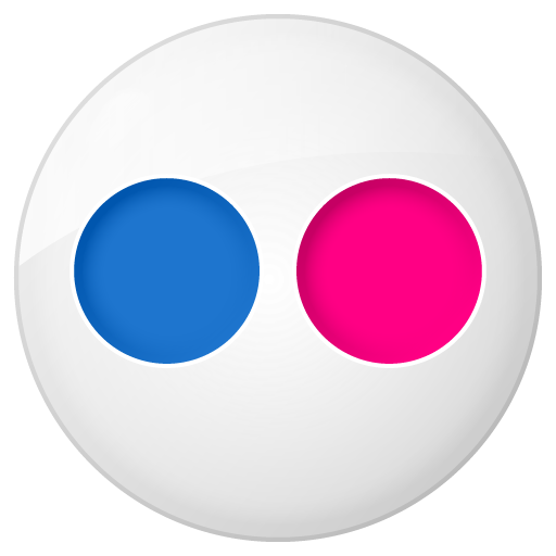 Button, flickr, social icon | Icon search engine