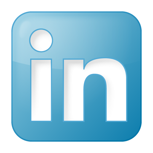 blue, box, linkedin, social icon