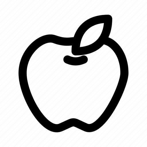apple, fruit, law, learning, nature, teacher icon