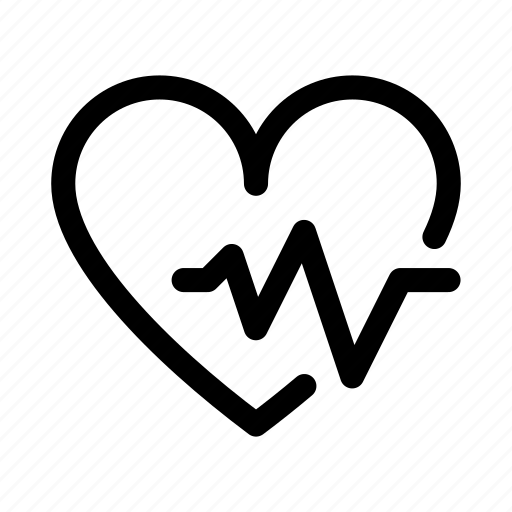 analysis, bit, fitness, health, heart, rate icon