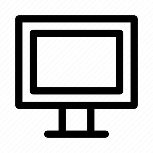 computer, device, electronic, lcd, monitor, screen, tv icon