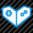 gamepad, playstation, videogame icon