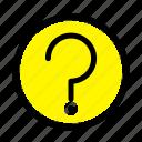 basic, help, mark, ui icon