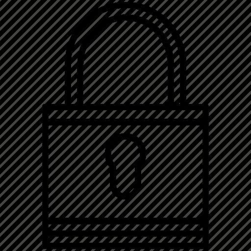 lock, padlock, password, pc, protection, safe, yummy icon