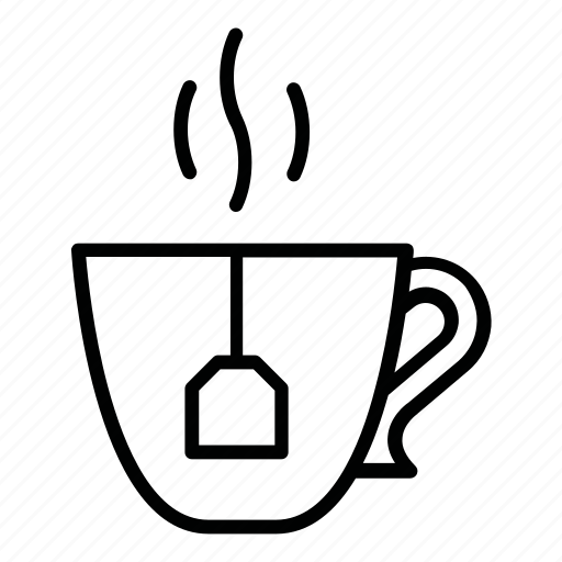cup, drink, hot, restaurant, tea, tea house, tearoom, yummy icon