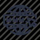 domain, url, web, website, www icon