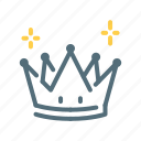 crown, king, premium icon