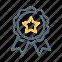 certificate, medal, premium, quality