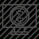 app, browser, pc, web, zcash icon