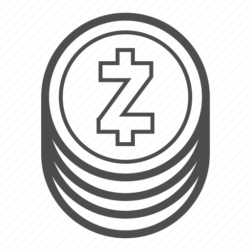 bill, cash, coin, coins, money, zcash icon